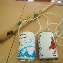 竹水鉄砲・空き缶ぽっくり作り